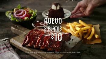 Chili's TV Spot, 'Tres platos' canción de The Doobie Brothers[Spanish]