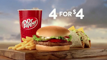 Jack in the Box 4 for $4 TV Spot, 'More Tacos'