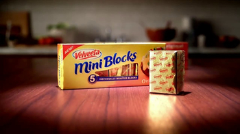 Velveeta Mini Blocks TV Spot, \'Introducing\'