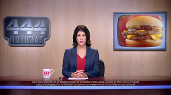 Wendy's 4 for $4 Meal TV Spot, 'Una opzzzzzzzión increíble.' [Spanish] - Thumbnail 2
