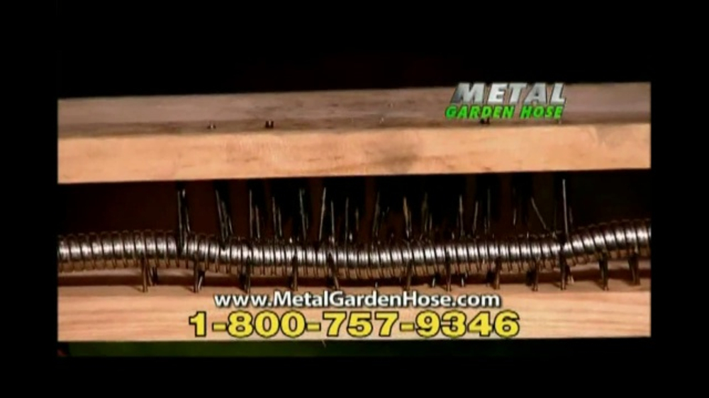 Metal Garden Hose TV Commercial No Kinks iSpottv