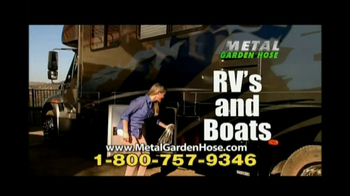 Metal Garden Hose TV Spot, 'No Kinks' - Thumbnail 5