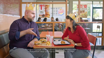 Burger King TV Spot, \'Mejor oferta\' [Spanish]