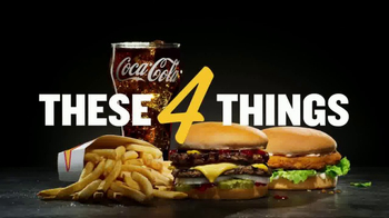 Carl's Jr. $4 Real Deal TV Spot, 'These Four Things'
