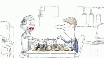 Red Bull TV Spot, 'Robot Chess Player'