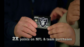 NFL Extra Points Credit Card TV Spot, 'Points on the Board'