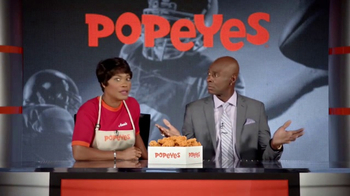 Popeyes Classic Cajun Wings TV Spot, \'Football Chat\' Featuring Jerry Rice
