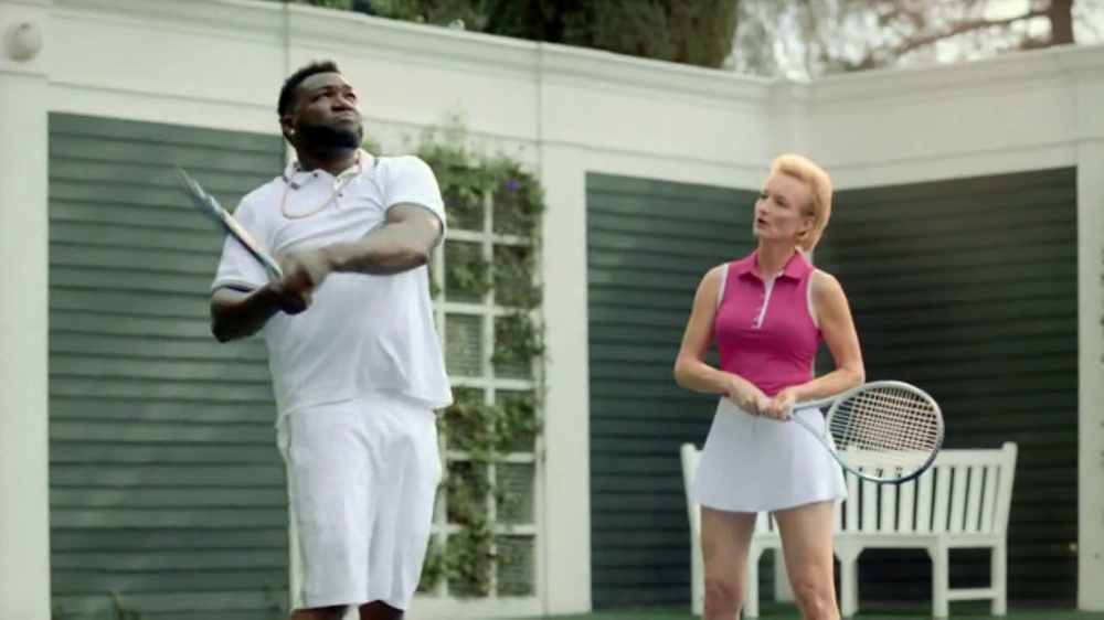 Redhead woman turbo tax commercial