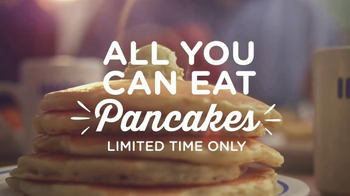 IHOP All You Can Eat Pancakes TV Spot, 'Stretchy Pants'