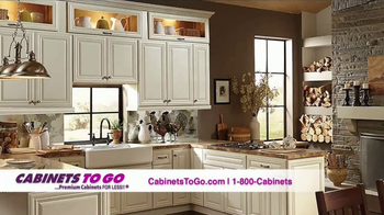 Cabinets To Go TV Spot, 'Brighten Up Your Kitchen'