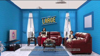 Rent-A-Center TV Spot, 'Live Large Without Making Large Payments' - Thumbnail 4