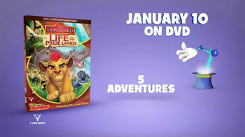 The Lion Guard: Life in the Pride Lands Home Entertainment TV Spot