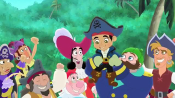 Captain Jake & the Neverland Pirates: The Great Never Sea Conquest TV Spot