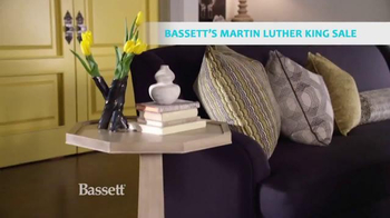Bassett Martin Luther King Sale TV Spot, 'Colorful Options'