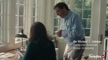 TurboTax TV Spot, \'Michael L. Littman ExplainWhy\'