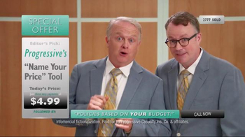 Progressive Name Your Price Tool TV Spot, 'Another Shopping Club' - 10477 commercial airings