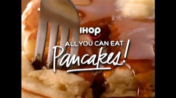 IHOP All You Can Eat Pancakes TV Spot, 'It's Back!'