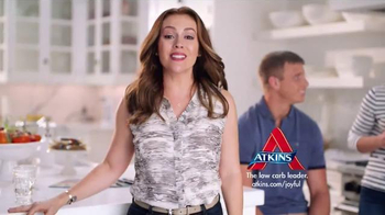 Atkins TV Spot, '#HappyWeight: Alyssa Milano Plus Three Success Story'