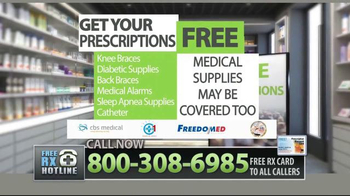Free RX Network TV Spot, \'Save Thousands\'