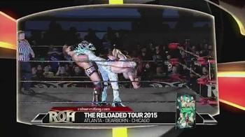 ROH Wrestling TV Spot, 'Reloaded Tour'