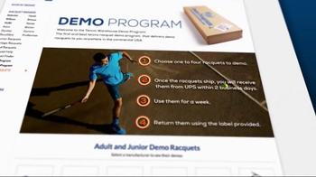 Tennis Warehouse TV Spot, 'Demo Program'