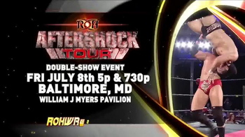 ROH Wrestling TV Spot, '2016 ROH Aftershock Tour: Double Show Event'