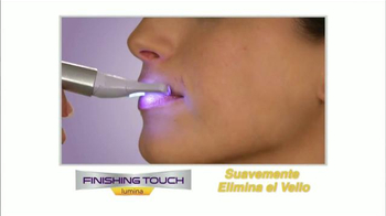Finishing Touch Lumina TV Spot, 'Elimina el vello facial' [Spanish]