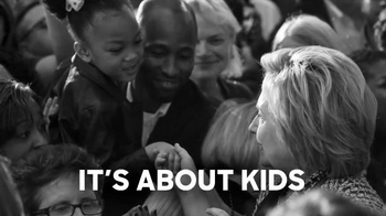 Hillary for America TV Spot, 'It's About Kids' - 1053 commercial airings