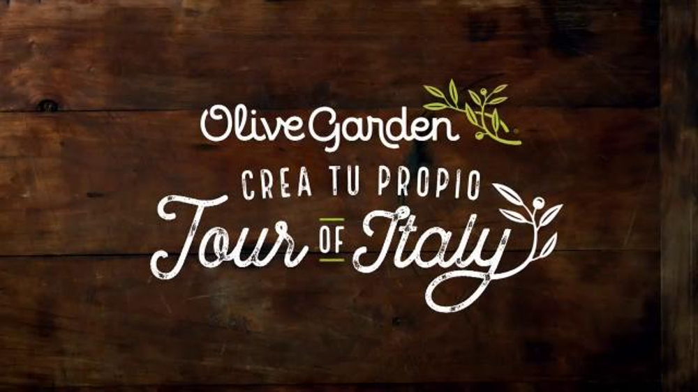 Olive Garden Crea Tu Propio Tour Of Italy Tv Commercial 39 Regres 39