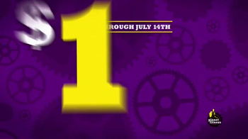 Planet Fitness Join Our Planet July TV Spot, 'The Right Foot'
