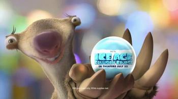 Chuck E. Cheese's TV Spot, 'Ice Age: Collision Course'