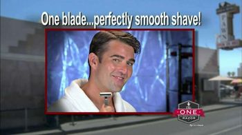 MicroTouch One Razor TV Spot, 'All You Need'