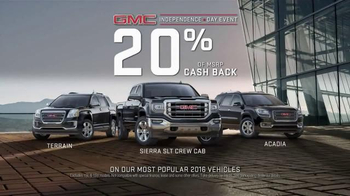 GMC Independence Day Sales Event TV Spot, 'Precision'