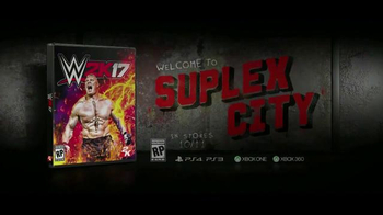 WWE 2K17 TV Spot, 'Welcome to Suplex City' Featuring Brock Lesnar