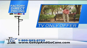 Get Up & Go Cane TV Spot, 'Standing' - Thumbnail 8