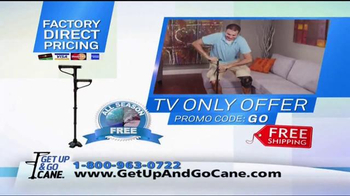 Get Up & Go Cane TV Spot, 'Standing' - Thumbnail 9