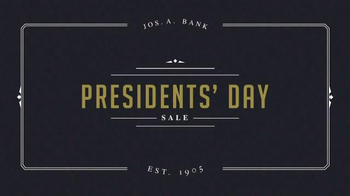 JoS. A. Bank Presidents' Day Sale TV Spot, 'Suits and Sportcoats'