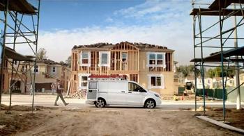 Mercedes-Benz Metris TV Spot, 'Hauls More, Stows More, Tows More' - Thumbnail 1