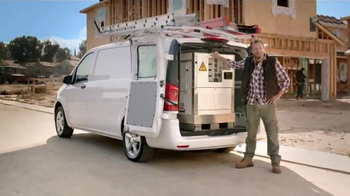 Mercedes-Benz Metris TV Spot, 'Hauls More, Stows More, Tows More' - Thumbnail 5