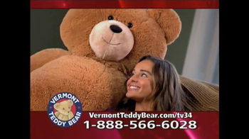 Vermont Teddy Bear Big Hunka Love Bear TV Spot, 'Pile of Awesomeness'