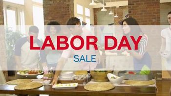 Ashley Homestore Labor Day Sale TV Spot, 'Stock Up'
