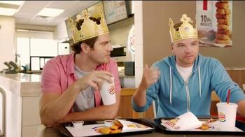 Burger King TV Spot, 'Deal of the Century' Featuring Brett Davern