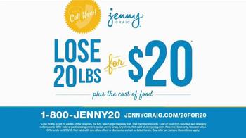 Jenny Craig TV Spot, 'Don't Lose Weight Alone'