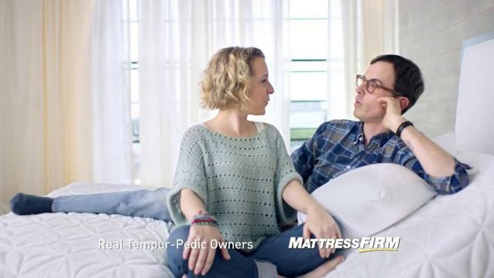 Mattress Firm Tv Commercial Tempur Pedic Adjustable