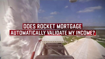 Quicken Loans Rocket Mortgage TV Spot, 'FAQ: Validate'