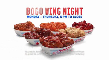Sonic Drive-In BOGO Wing Night TV Spot, 'Can't Choose' - Thumbnail 6