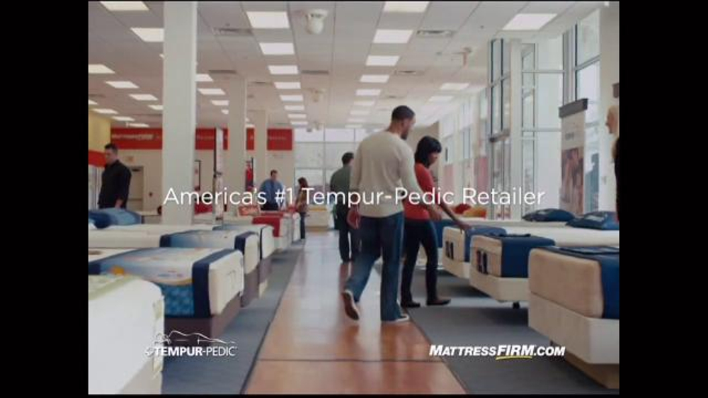 Mattress Firm Tv Commercial Sleep Happy On Tempur Pedic