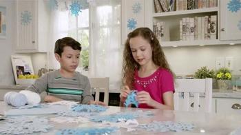 Kid Cuisine Snowstorm Popcorn Chicken TV Spot, 'Paper Snowflakes'