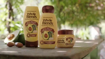 Garnier Whole Blends Avocado Oil & Shea Butter TV Spot, 'Nourishing Care' - Thumbnail 10