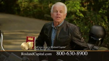 Rosland Capital Gold IRA TV Spot, 'The Open Road' Featuring William Devane